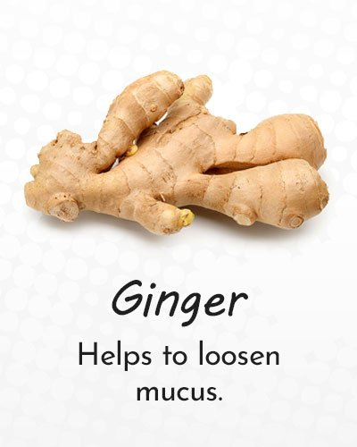 Ginger for Cough Treatment