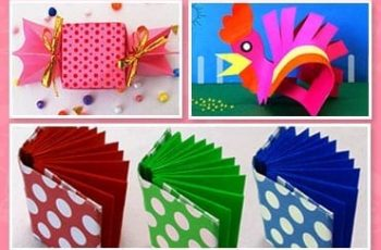 5 Easy & Fun Kid's Paper Craft Ideas