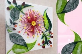 DIY Room Decor with Awesome Paper Quilling Art!