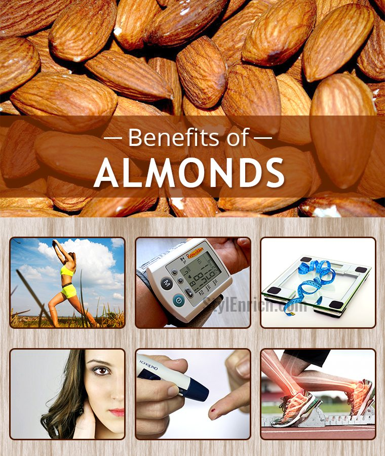 Almonds Nutrition Health Benefits That You Must Know
