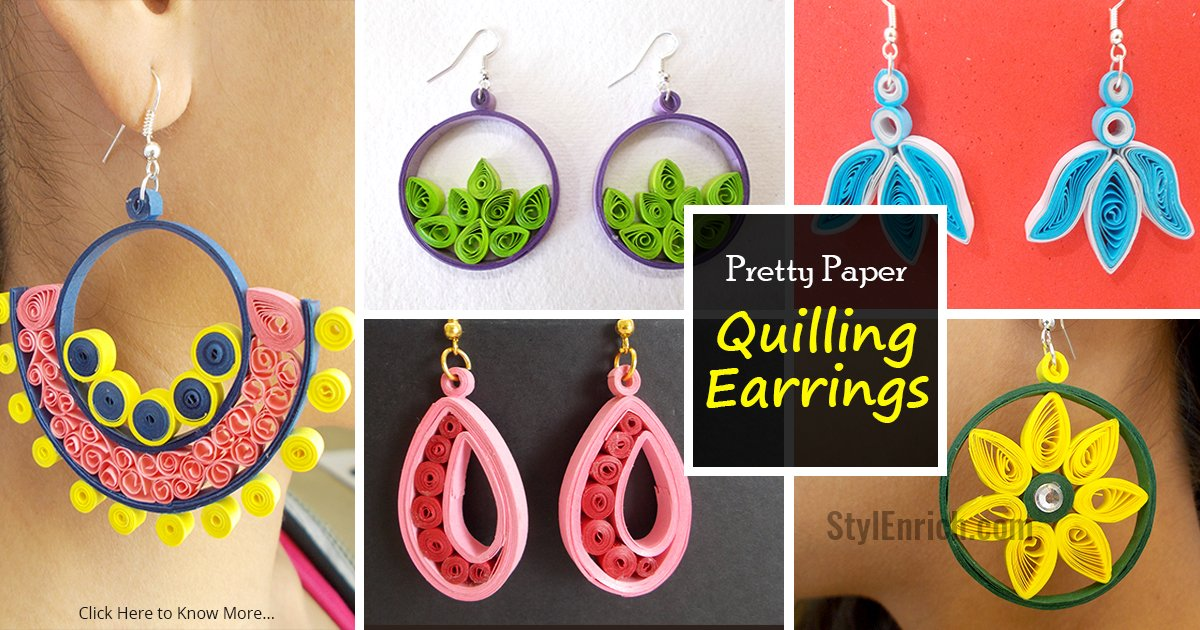 Easy quilling projects 5 in 1 pretty paper quilling for Easy quilling designs step by step