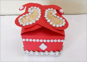 How to make cute handmade decorative gift box for Handmade things step by step