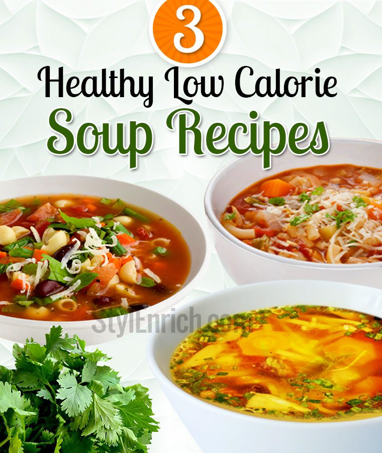 Low calorie soup recipes