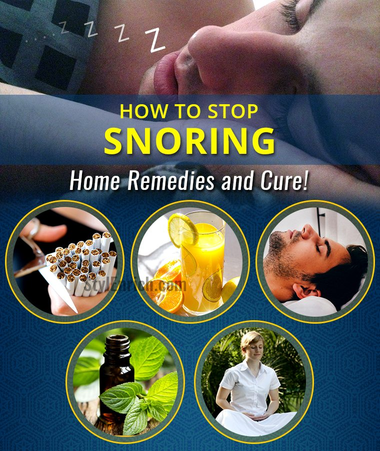 How To Stop Snoring.