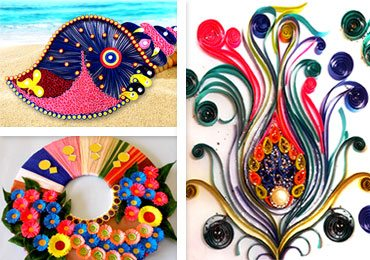 Quilling Wall Art Ideas