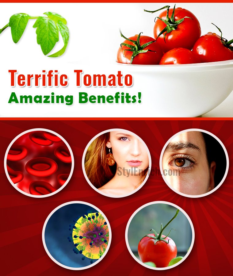 Let's See Tomato Nutrition Health Benefits!