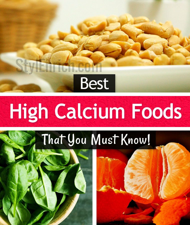 High calcium foods 10 important foods to maintain our health