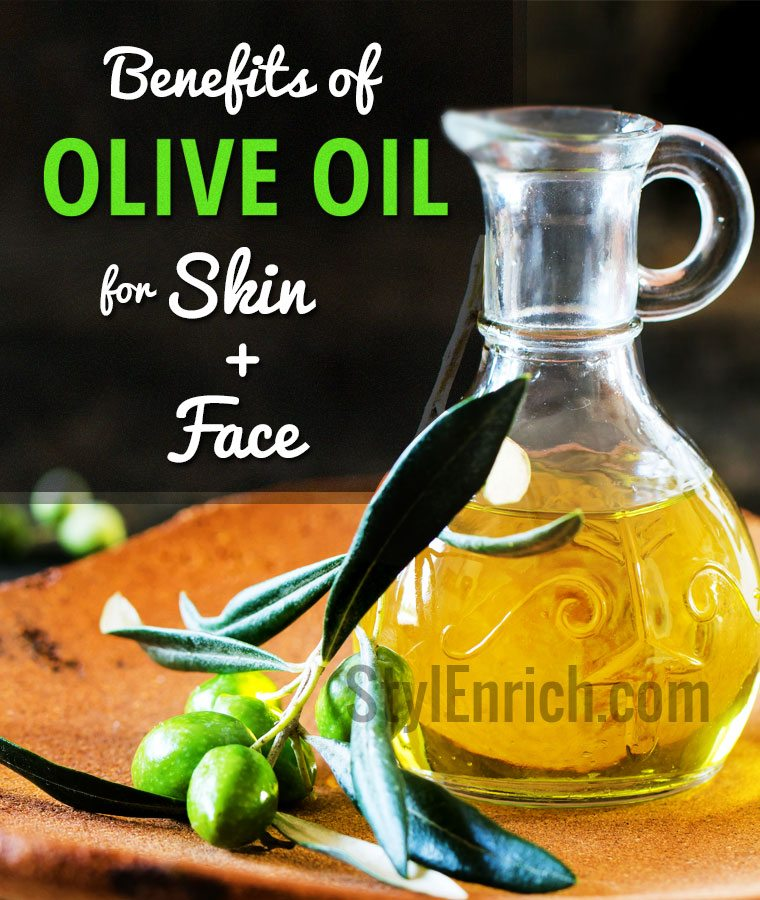 Benefits of Olive Oil for Skin and Face