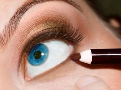 Copper Shadow For The Lower Eyelid