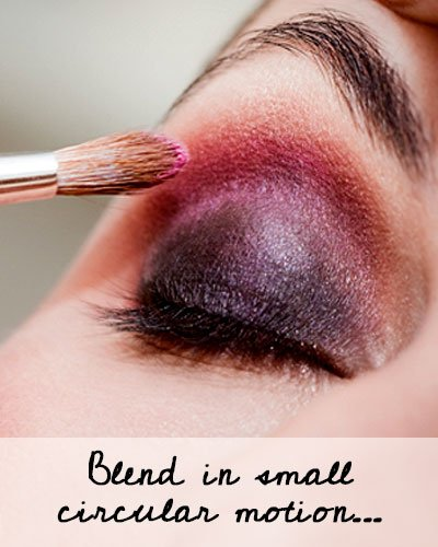 How To Blend Eye Shadows