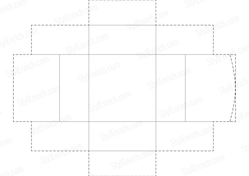 DIY Paper Box Template Free Download