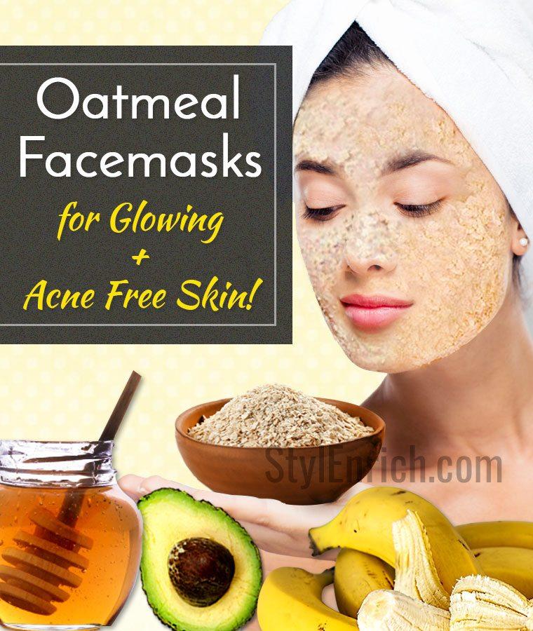 Homemade Oatmeal Face Mask Recipes