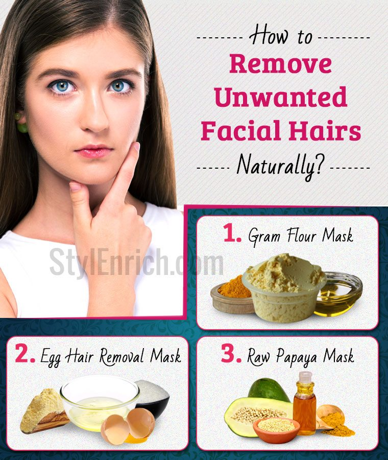 How To Get Rid Of Unwanted Face Hair Naturally