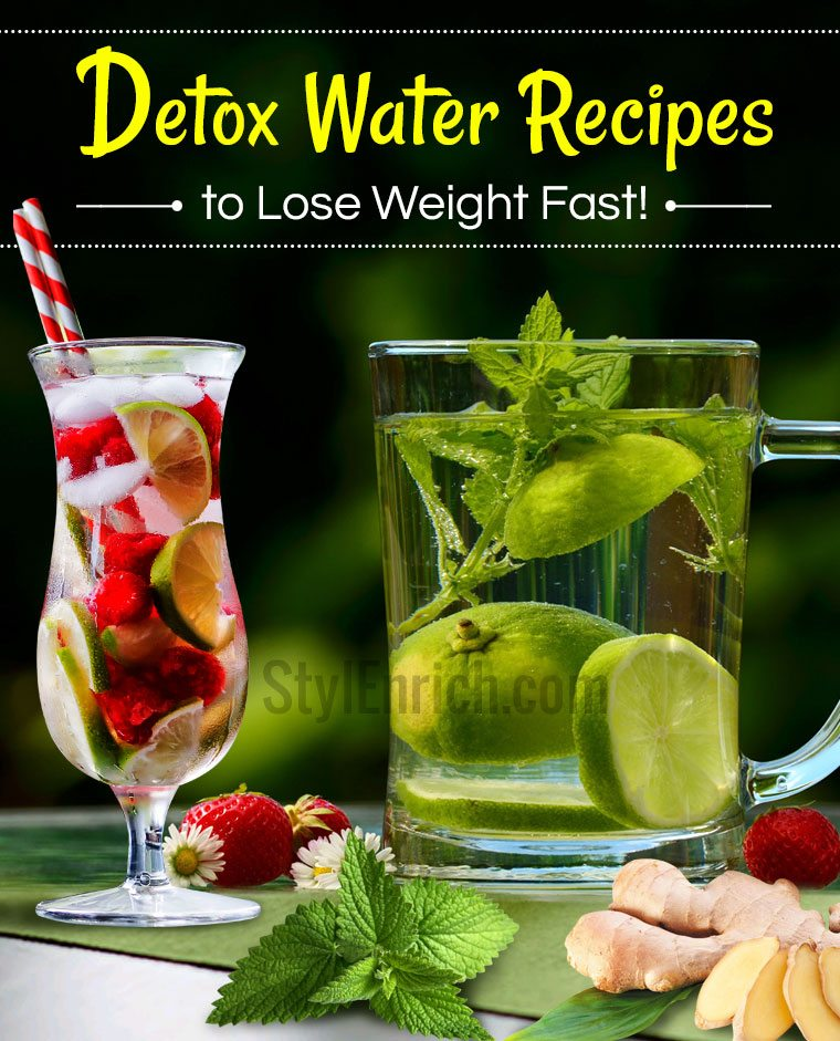 Top 5 Detox Water Recipes