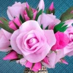 DIY Crafts : How to Make Easy DIY Crepe Paper Roses?