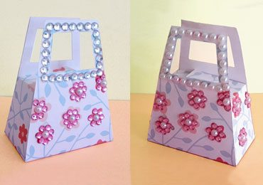 Handmade Gift Box : How to Make Small DIY Paper Gift Bag?