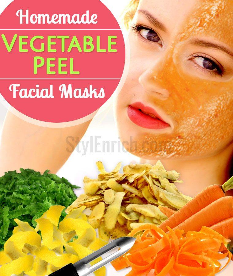 Face Masks DIY Using Veggie Peels