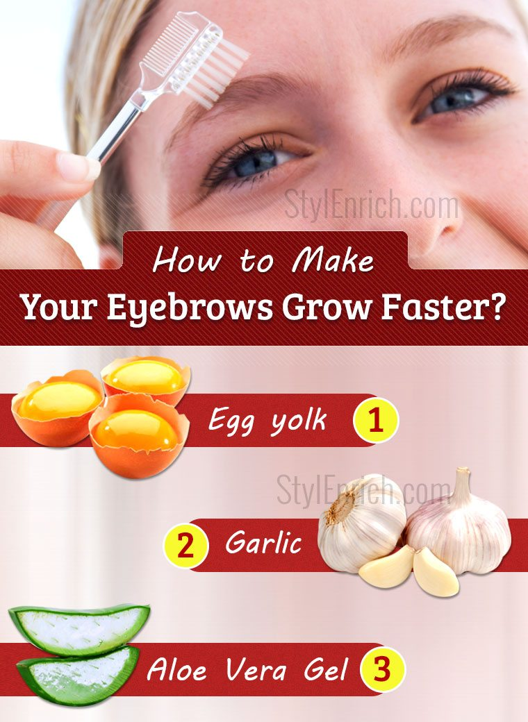 How to Make Your Eyebrows Grow Faster Using Home Remedies?