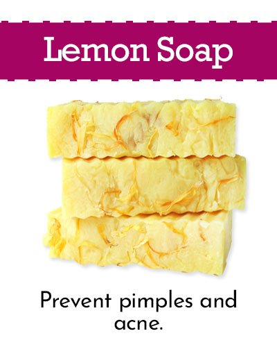Lemon Homemade Soap