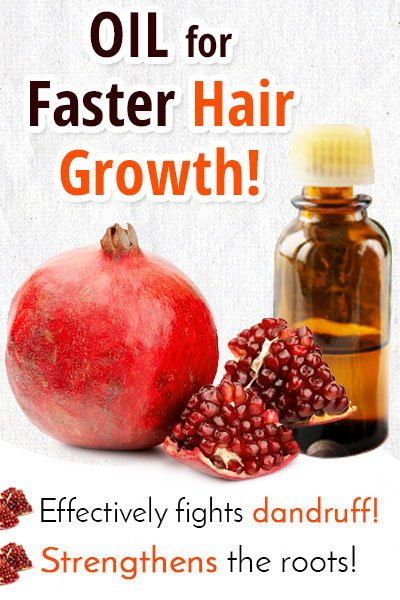 Pomegranate Oil for Hair Growth