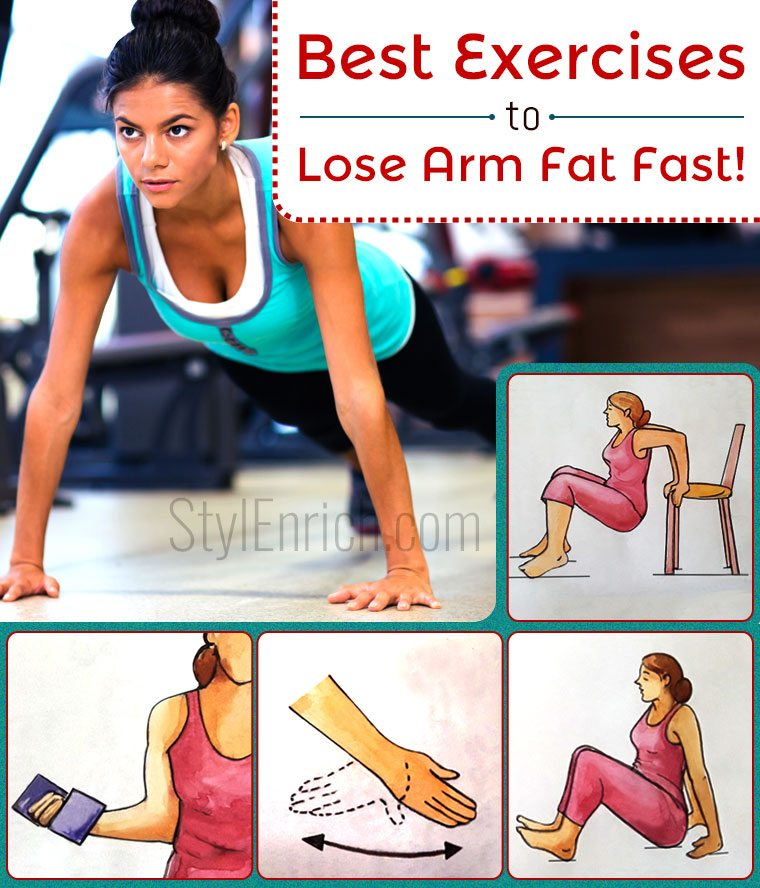 Exercises to Lose Arm Fat Fast