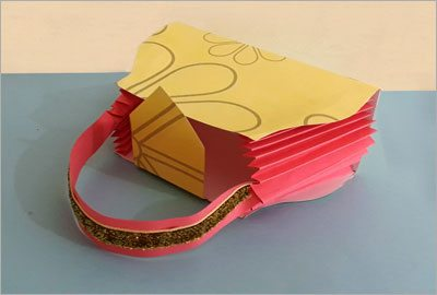 Gift bag diy paper crafts