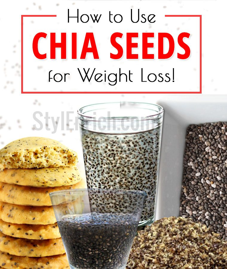 Chia Seeds for Weight Loss :How To Use Chia Seeds to Lose ...