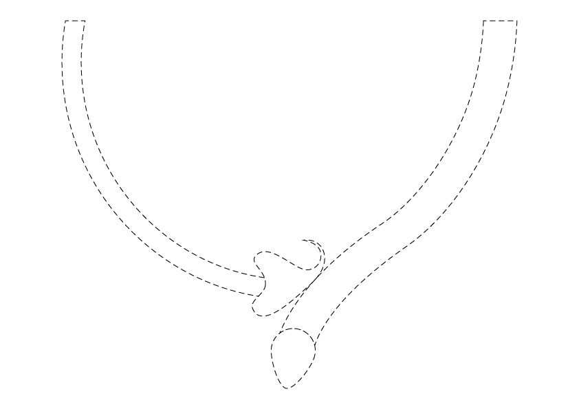 Necklace-template