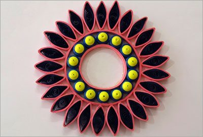 Quilling decor diy