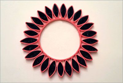 Quilling diy decor