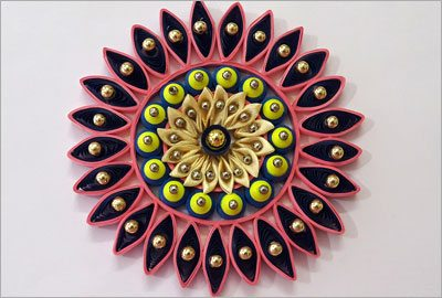 Quilling home decor diy