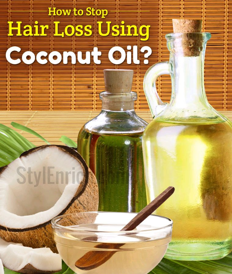 Coconut Oil for Hair Loss