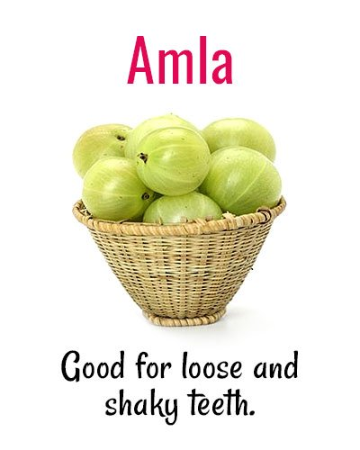 Amla for Shaky Teeth