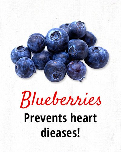 Blueberries Prevent Heart Diseases