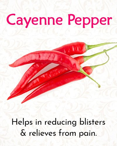 Cayenne Pepper For Shingles