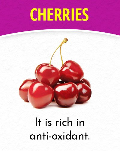 Cherries for Migraines