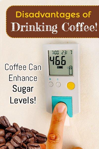 Coffee Enhance Sugar Levels