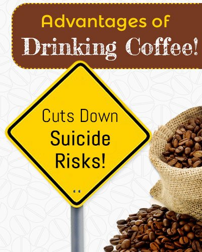 Coffee To Cut Down Suicide Risks