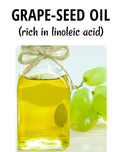 Grape-Seed Oil for Hair