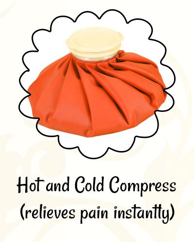 Hot and Cold Compress for Osteoarthritis