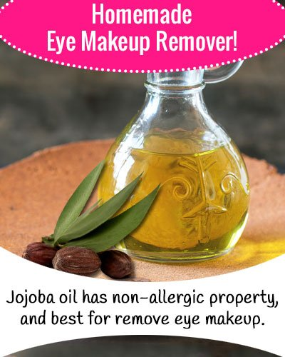 Jojoba Oil Eye Makeup Remover