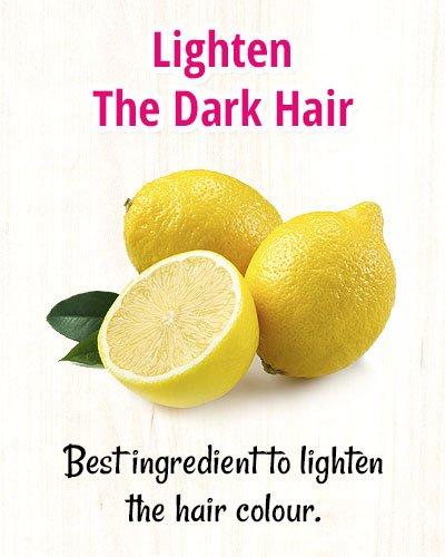 Lightening The Dark Hair