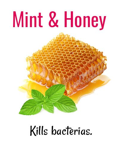 Mint and Honey for Shaky Teeth