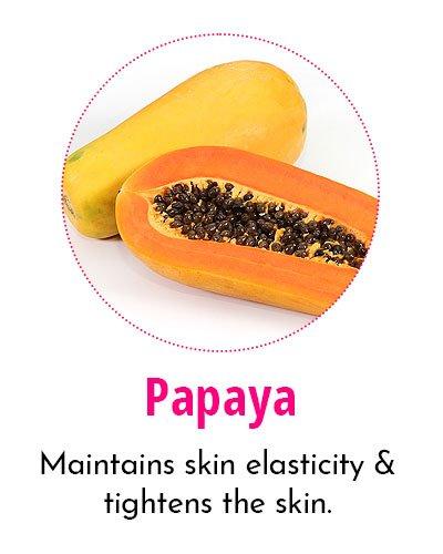 Papaya for Crow's Feet