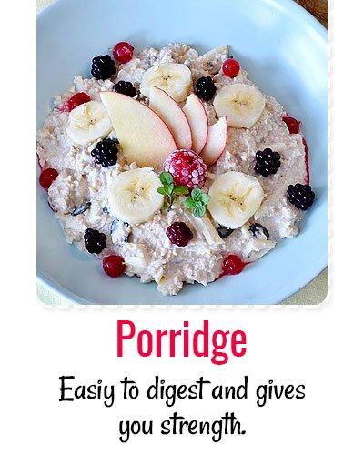 Porridge For Dengue Treatment