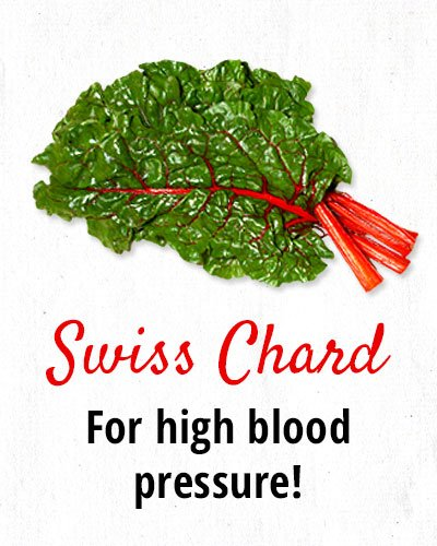 Swiss Chard for High Blood Pressure