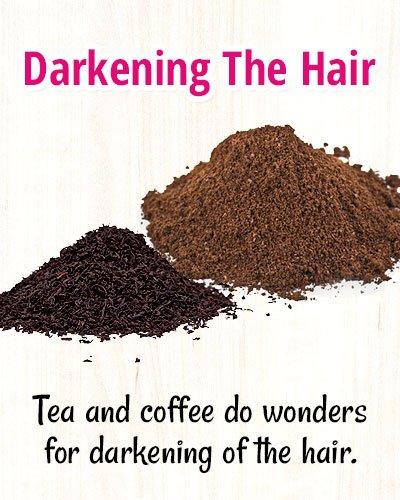 Tips For Darkening The Hair