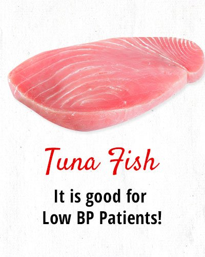 Tuna Fish for Low BP Patients