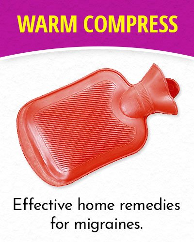 Warm Compress for Migraines