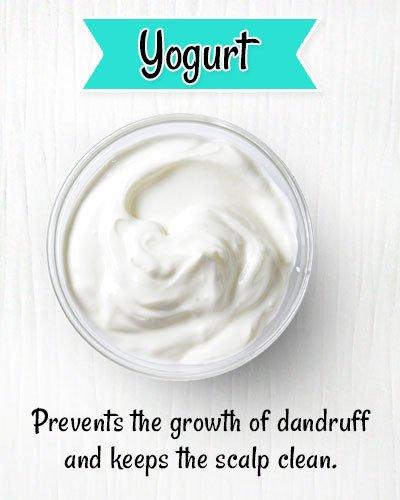 Yogurt ToPrevents Dryness